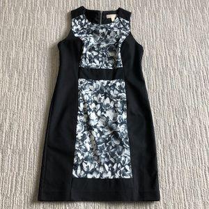 Michael Kors Black & White Floral Dress